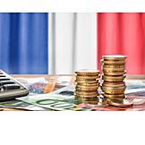 Finanzen, Euro, Frankreich