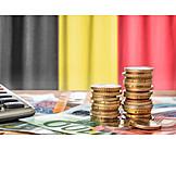 Finanzen, Euro, Belgien
