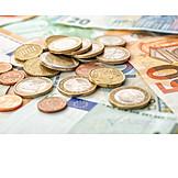 Money, Euro, Cash