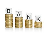 Finanzen, Bank, Absteigend