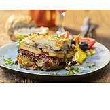 Mediterranean Cuisine, Eggplant Souffle