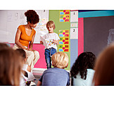 Bildung, Vorlesen, Lehrerin