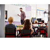 School, Teacher, Writing Learning