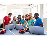 Schüler, Lehrerin, Informatik, Programmieren