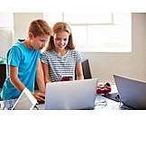 Zusammenarbeit, Unterricht, Informatik, Programmieren