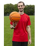Man, Leisure, Basketball