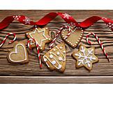 Weihnachtszeit, Weihnachtsgebäck, Süßwaren