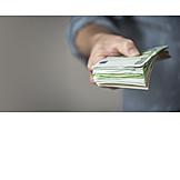 Geldscheine, Euroscheine, Bargeld