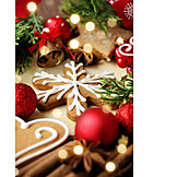 Weihnachten, Weihnachtsgebäck, Lebkuchen