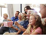 Watching Tv, Family, Generation