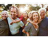 Familie, Generationen, Gruppenbild