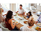 Family, Together, Lunch