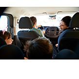 Familie, Verreisen, Autoreise