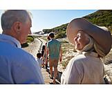 Vacation, Beach Walking, Family