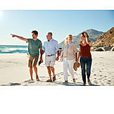 Strand, Urlaub, Familie