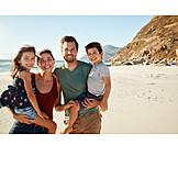 Strand, Familie, Gruppenbild