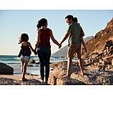Strand, Familie, Verbundenheit