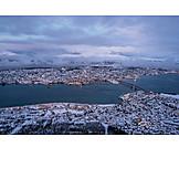 Norway, Tromsø, Tromsøysund
