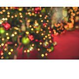 Lights, Christmas tree