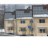 Stromerzeugung, Sonnenenergie, Solardach