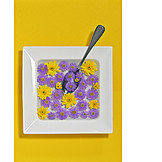 Flowers, Soup, Edible