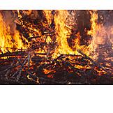 Wood, Fire, Burning