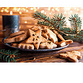 Christmas cookies, Cookie platter