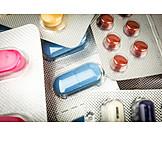 Medizin, Tabletten, Blisterverpackung