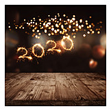 Lights, New Years Eve