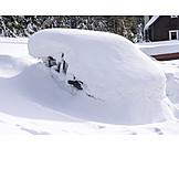 Car, Snowed