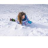 Girl, Snow