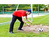 Fußball, Torwart, Fußballtraining
