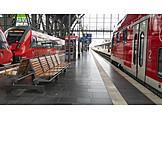 Platform, Main Station, Frankfurt