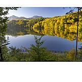 Autumn, Hoeglwoerther See