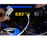 Router, Internet Access, Cabling
