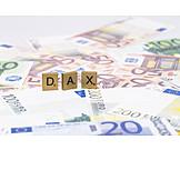 Dax, Stock market
