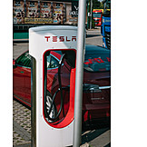 Electric car, Charging point, Charging station