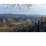 Autumn, Saxon Switzerland