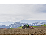 Agriculture, Tractor, Seeders