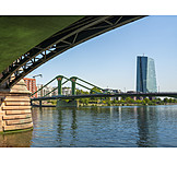 Bridge, Main River, Frankfurt
