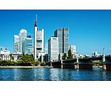 Skyline, Frankfurt, Financial District