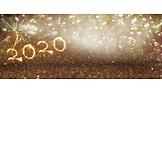 Neujahr, Leuchtend, 2020