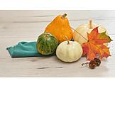 Herbstlich, Herbstdekoration