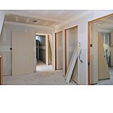Tür, Hausbau, Innenausbau