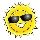 Sun, Sunglasses, Bright