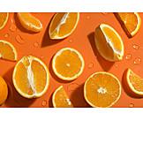 Orange, Refreshing, Vitamin C