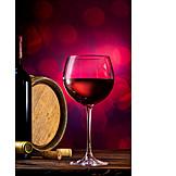 Wein, Weinglas, Rotwein