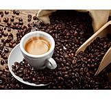 Espresso, Coffee beans, Aroma