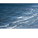 Küste, Ozean, Wellen