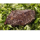 Feldsalat, Rindfleisch
